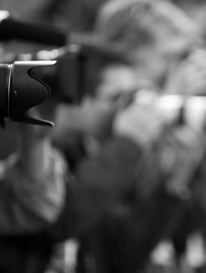 photographe à l'affut